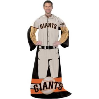 San Francisco Giants Unisex Player Comfy Throw   Black