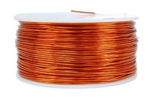 TEMCo 18 AWG Copper Magnet Wire   1 lb 199 ft 200�C Magnetic Coil: Everything Else