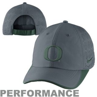 Nike Oregon Ducks Tech Training Adjustable Performance Hat   Charcoal