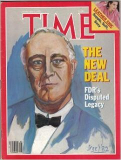 Time Magazine February 1 1982 The New Deal FDR's Disputed Legacy Time Magazine Books