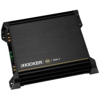 Kicker DX500.1 Mono Subwoofer Amplifier, 500 Watts RMS x 1 at 2 ohms  Vehicle Mono Subwoofer Amplifiers