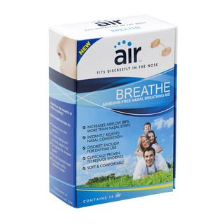 Air Breathe Advanced Nasal Breathing Aid to Increase Airflow (Pack of 14) Airware, Inc. Respiratory Accessories