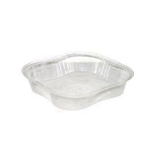 """Clear Plastic Food Storage Containers 4.5""""x4.25""""   Pack of 6 (1/2 dozen) Health & Personal Care"""