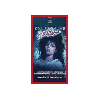 Pat Benatar: Hit Videos [VHS]: Richard Belzer, Pat Benatar, Neil Giraldo, Bill Paxton, Michael Peters, Judge Reinhold, Luther Fear, Bob Giraldi, Juliano Waldman: Movies & TV