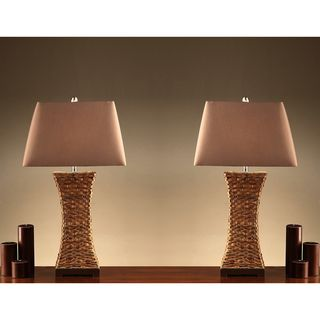 Wiki 35 inch Table Lamps (Set of 2) Lamp Sets