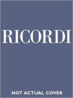 Un Ballo in Maschera (A Masked Ball) Vocal Score Giuseppe Verdi 0073999691832 Books