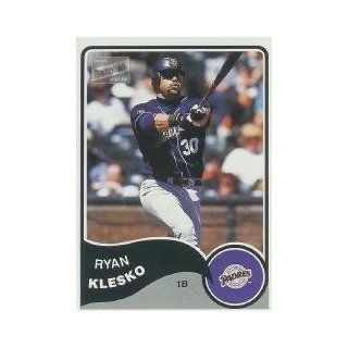 2003 Bazooka #225 Ryan Klesko: Sports Collectibles