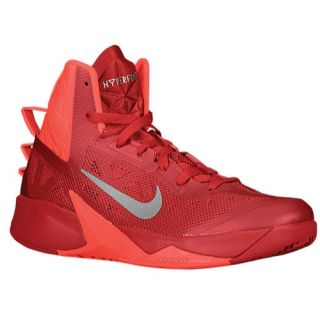 Nike Zoom Hyperfuse 2013   Mens   Basketball   Shoes   Gym Red/Bright Crimson