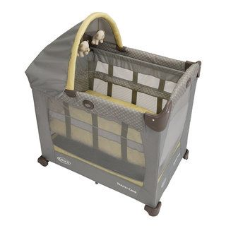 Graco Travel Lite Crib with Stages in Peyton Graco Playards