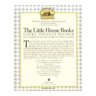 Little House Nine Book Box Set Laura Ingalls Wilder 9780064400404 Books
