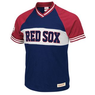 Mitchell & Ness MLB Substitution V Neck T Shirt   Mens   Baseball   Clothing   Texas Rangers   Royal