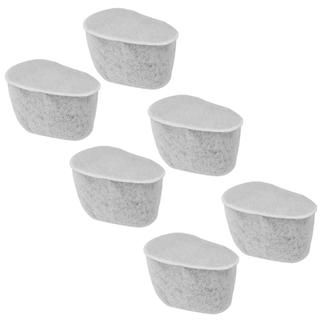 Krups F472 Duo Replacement Charcoal Water Filters  Set of 6 Total Filters Krups Coffee Makers