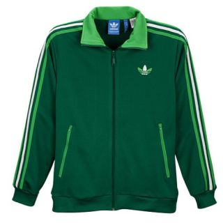 adidas Originals Split Stripe Firebird Track Jacket   Mens   Casual   Clothing   Black/Sun/White