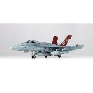 """Academy USMC P/A 18A+ """"VMFA 232 Red Devils"""" Airplane Model Building Kit Toys & Games"""