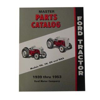 Ford Master Parts Catalog For Ford Tractor 2N 8N 9N : Patio, Lawn & Garden