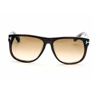 Sunglasses Tom Ford OLIVIER TF 236 FT0236 50P dark brown/other / gradient green: Shoes