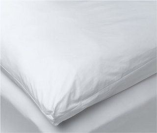 233 Thread Count King Featherbed Cover (Zippered)