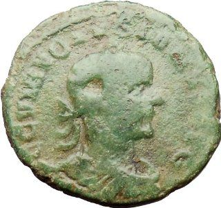 VOLUSIAN 249AD Dacia Province LEGION V & XIII Eagle Lion Ancient Roman Coin RARE: Everything Else