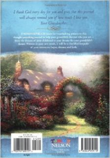 Grandmother's Memories: To Her Grandchild (A Journal of Faith and Love): Candy Paull, Thomas Kinkade: 9780849959110: Books