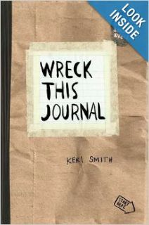 Wreck This Journal (Paper bag) Expanded Ed.: Keri Smith: Books