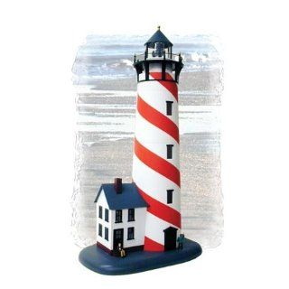 Model Power 6365 Lighted Lighthouse w/House B/U O: Toys & Games
