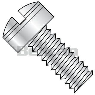 Bellcan BC MS35275 249 MS35275, Military Drilled Fillister MS Screw Coarse Threaded 300 Series S/S DFAR #8 32 X 1 (Box of 250): Industrial & Scientific