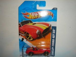 2011 Hot Wheels KMart Exclusive Shelby Cobra 427 S/C Red #107/244: Toys & Games