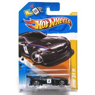 Hot Wheels 2012, BMW Z4 M (BLACK), 2012 new models, 18/247. 1:64 Scale.: Toys & Games