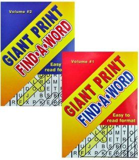 USA Wholesaler   10874277   Giant Print Find A Word Puzzles Case Pack 24 : General Sporting Equipment : Sports & Outdoors