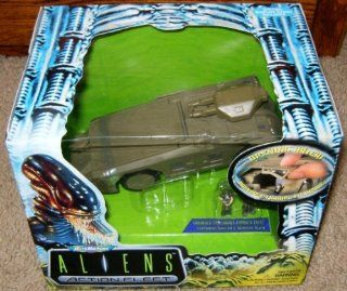Micro Machines Aliens Armored Personnel Carrier APC Action Fleet: Toys & Games