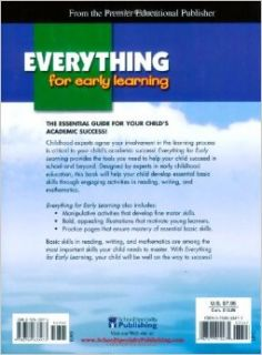 Everything for Early Learning, Grade Preschool: American Education Publishing: 9780769633473: Books