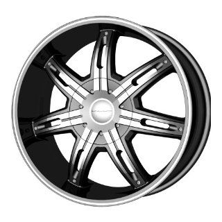 "KMC Wheels Surge KM6655 Matte Black Finish Wheel with Machined Accents (20x9""/5x115mm): Automotive"