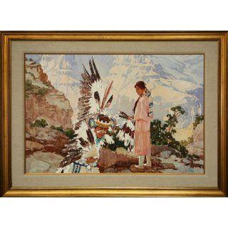 Married to an Eagle Dancer  Grand Canyon Arizona Ross Stefan Fine Art