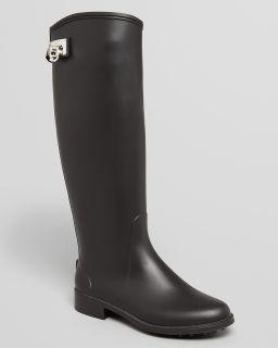 Salvatore Ferragamo Tall Rain Boots   Ruben Logo's
