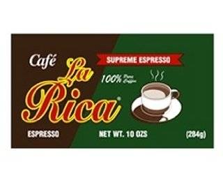Cafe La Rica Cuban Espresso Ground Coffee 284 g: Grocery & Gourmet Food