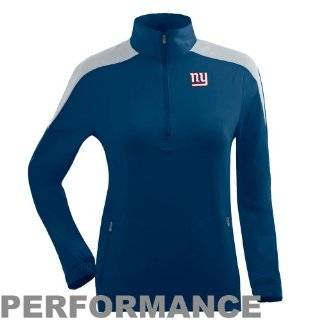 New York Giant jackets : Antigua New York Giants Women's Succeed Half Zip Jacket   Royal Blue: Sports & Outdoors