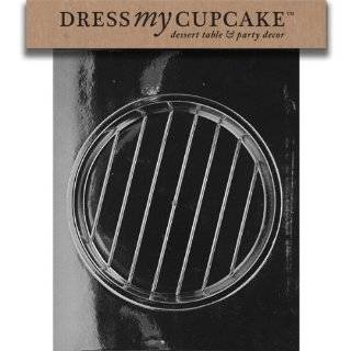Dress My Cupcake DMCD301ASET Chocolate Candy Mold, 7 1/2 Inch Round Pour Box, Set of 6 Kitchen & Dining