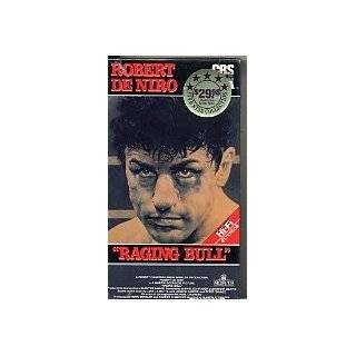 Raging Bull (1980) CBS/FOX Original Release VHS: Robert Deniro, Joe Pesci, Cathy Moriarty, Frank Vincent, Martin Scorsese: Movies & TV