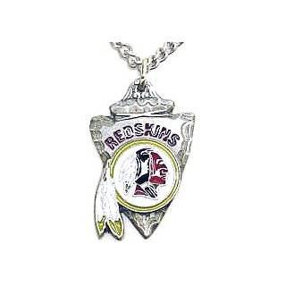 NFL Chain Necklace & Pendant   Washington Redskins NFL Chain Necklace & Pendant   Washington Redski Sports & Outdoors
