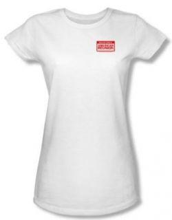 American Reunion Juniors T shirt Movie My Name Is White Tee Shirt Clothing