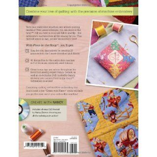 Piece in the Hoop: 20 Quilt Projects + 40 Machine Embroidery Designs: Larisa Bland, Nancy Zieman: 9781440203565: Books