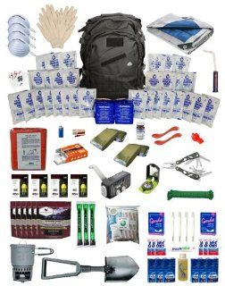 Urban Survival Kit Deluxe for Four People: Sports & Outdoors
