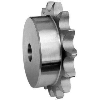 """50B32 Ametric� Inch ANSI 50 1 Hub Steel Sprocket, For #50 Single Strand Chain with, 5/8"""" Pitch, 3/8"""" Roller Width, 0.400"""" Roller Diameter, 0.343"""" Sprocket Tooth Width, 6.65 Inch Outside Diameter (Approximate), 3 3/4 Inch Hub Diameter, 1"""