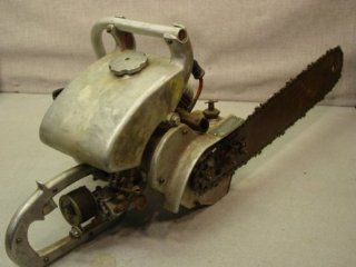 Vintage  Roebuck Die Cast Aluminum Chain Saw: Everything Else