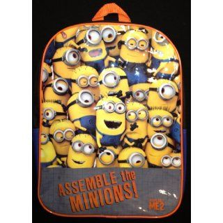 Despicable Me 2 Minions backpack: Toys & Games