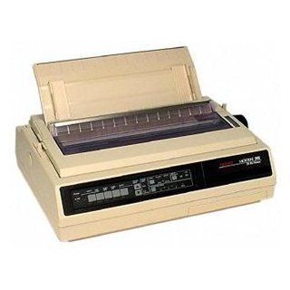 Oki MICROLINE 395 Dot Matrix Printer. ML395 24PIN WIDE 610CPS PAR SER 120V EPSON LQ2550 IBM XL 24E BLK DOT. 610 cps Mono   360 x 360 dpi   Parallel, Serial: Office Products