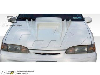 1994 1995 Ford Thunderbird Duraflex Spyder 3 Hood   1 Piece: Automotive
