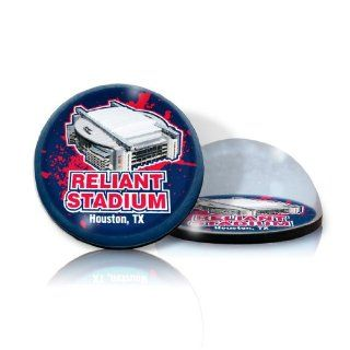 "NFL Houston Texan stadium in 2"" Crystal magnet with Colored Window Gift Box : Sports Related Magnets : Sports & Outdoors"