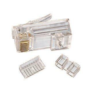 85 366   Ideal CAT 6 RJ 45 Modular Plugs, Pack of 25: Industrial & Scientific