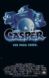 Casper   (Clamshell) [VHS]: Bill Pullman, Christina Ricci, Cathy Moriarty, Eric Idle, Chauncey Leopardi, Spencer Vrooman, Malachi Pearson, Ben Stein, Don Novello, Fred Rogers, Terry Murphy, Ernestine Mercer, Brad Silberling, Colin Wilson, Gerald R. Molen,